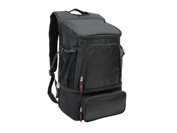 Black Cooler Backpack with PEVA Lining